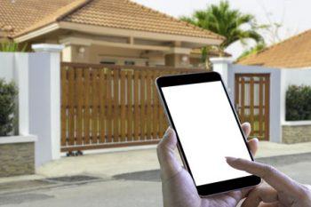 garage door opener smartphone app